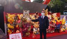 東京鐵塔台灣祭 台灣學童手製花燈成打卡熱點 (圖)