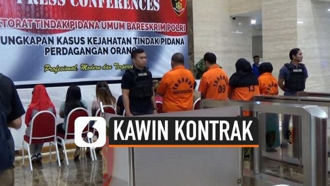 VIDEO: Polisi Bongkar Kasus Prostitusi Berkedok Kawin Kontrak di Puncak Bogor