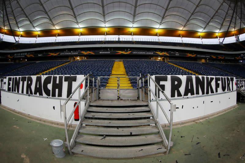 Europa League - Round of 16 First Leg - Eintracht Frankfurt v Basel