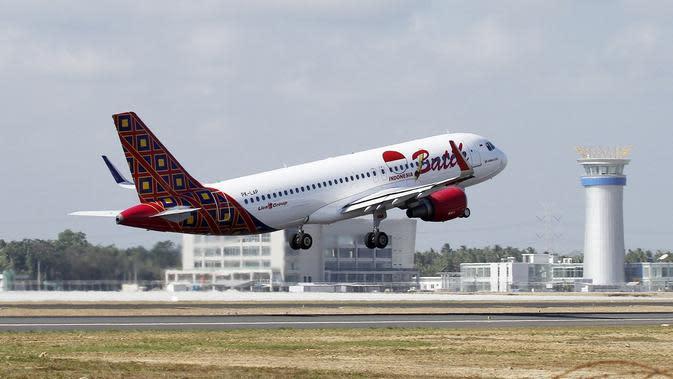 Batik Air terbang melalui Yogyakarya International Airport. (Dok Lion Air Group)