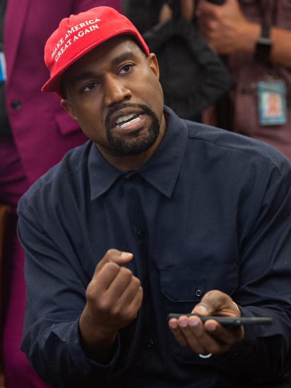 Kanye West (SAUL LOEB / AFP)