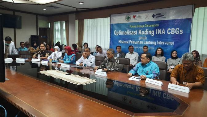 Kegiatan Med-Verify atau pelatihan coding INA-CBG's untuk kalangan perumahsakitan merupakan kerja kolaborasi antara Perhimpunan Rumah Sakit Seluruh Indonesia (PERSI) dengan PT MedtronicIndonesia (Foto: Istimewa)