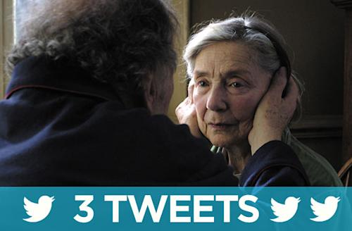 Three Tweets: #Amour summed up in brief