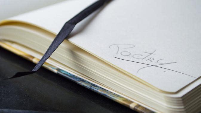 Ilustrasi menulis, puisi. (Gambar oleh cromaconceptovisual dari Pixabay)