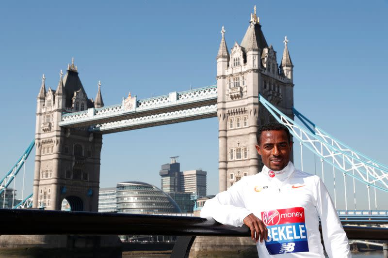 Bekele ruled out of London Marathon with calf injury