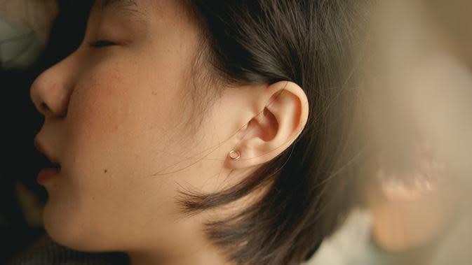 Ilustrasi telinga (Sumber: Unshplash)