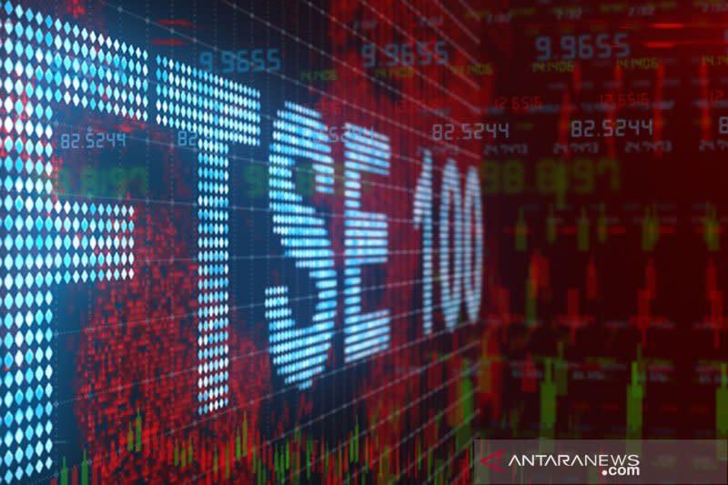 Indeks FTSE-100 bursa saham Inggris berakhir melemah 1,75 persen
