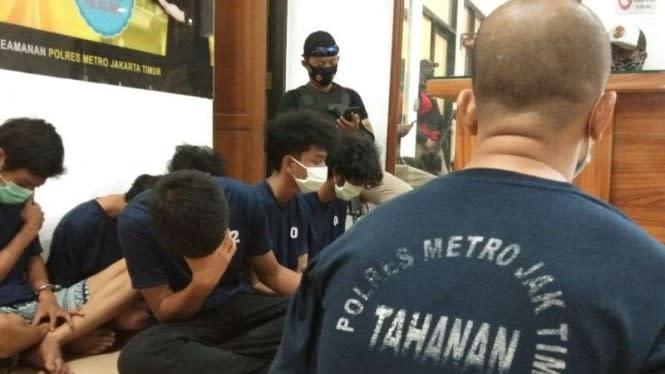 Gengster di Bawah Umur Diringkus Polisi Setelah Bantai 2 Remaja