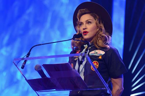 Madonna Calls on Boy Scouts to Lift Ban on Gays