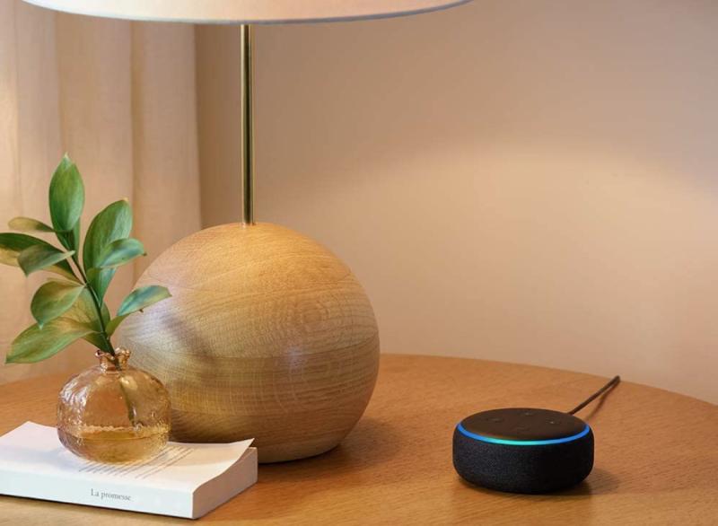 Amazon Echo Dot Speaker is part of Amazon's Early Prime Day Deals. Image via Amazon.