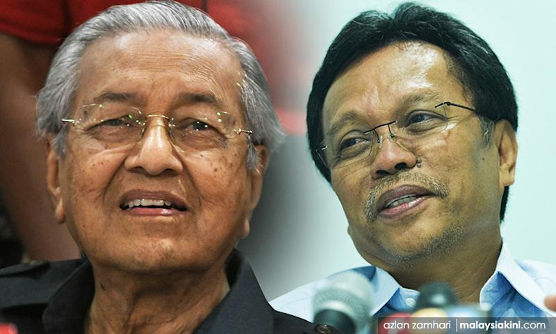 Mahathir says Shafie Apdal is still a PM candidate