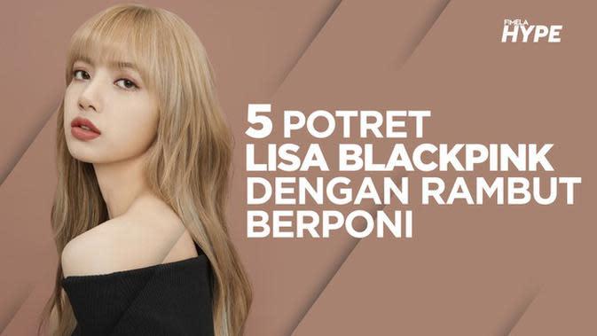 5 Potret Lisa Blackpink yang Konsisten dengan Rambut Berponi