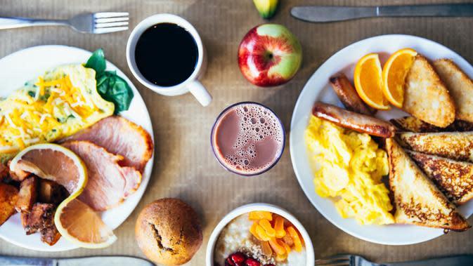 ilustrasi lupa sarapan menyebabkan sistem kerja otak menurun/pexels