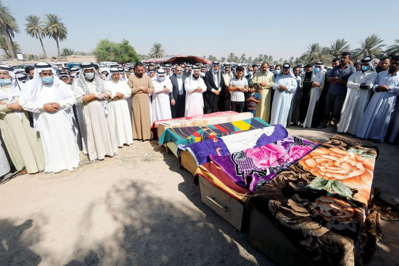 U.S. 'outraged' by rocket attack in Baghdad -state department