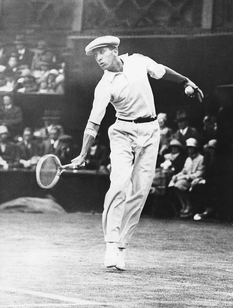 Jean Rene Lacoste in 1927 (Photo by ullstein bild/ullstein bild via Getty Images)