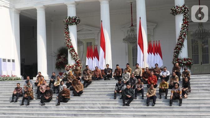 Beredar Isu Reshuffle Kabinet Jokowi, Ini Kata Istana