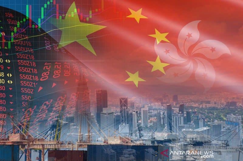 Bursa saham Hong Kong ditutup naik untuk hari kelima berturut-turut
