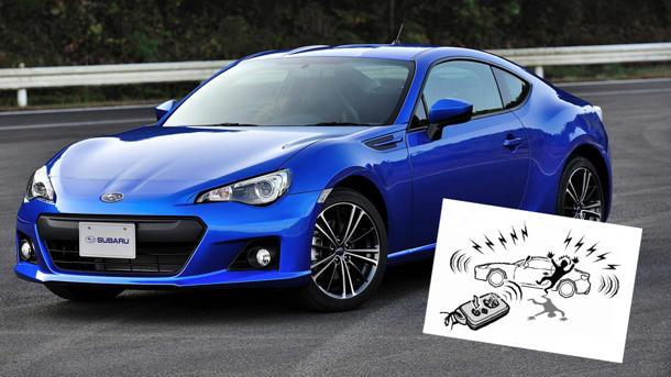 Explaining the Subaru BRZ owner's manual, with hungry trunks and spiffy suits