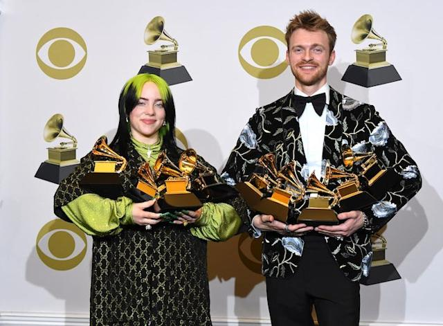 Billie Eilish y Finneas OConnel
