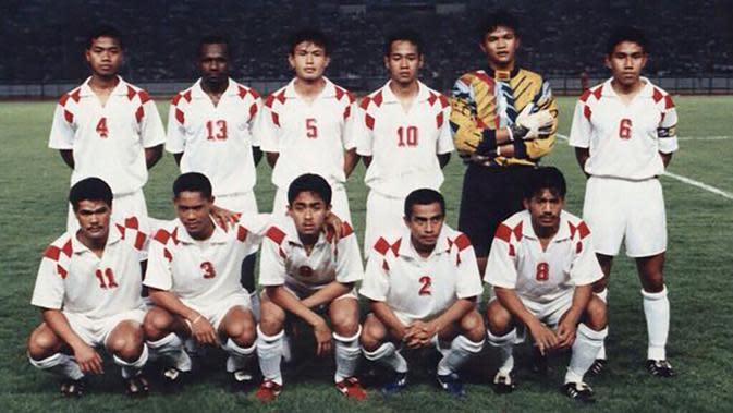 Timnas Indonesia Primavera yang dikapteni Bima Sakti. (Dok. Pribadi Supriono)