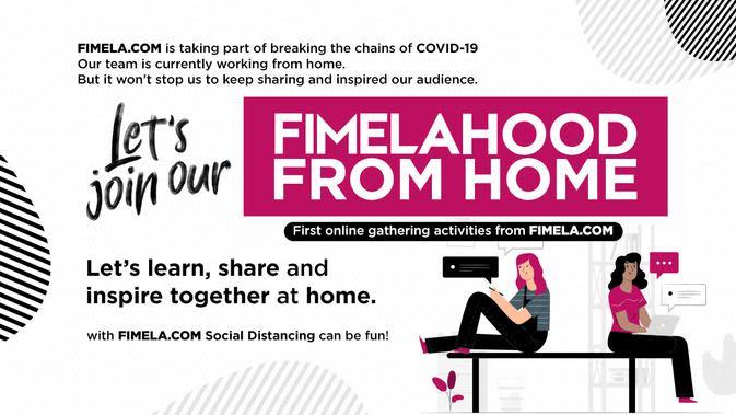 Fimelahood From Home: Kelas Online Pertama dari Fimela.com, Daftar Yuk!