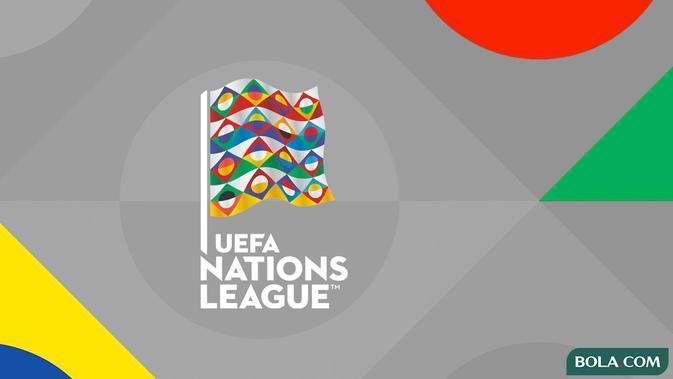 Ilustrasi Logo - UEFA Nations League (Bola.com/Adreanus Titus)