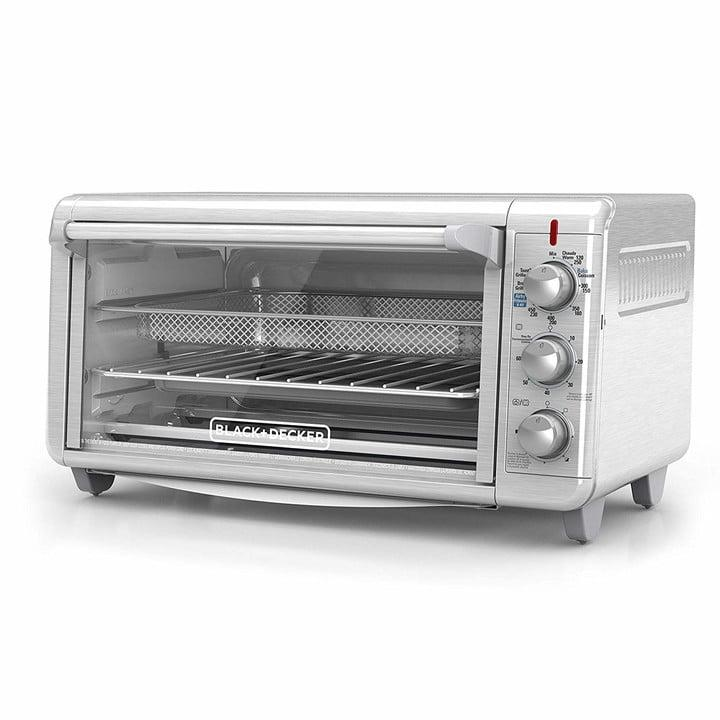 Black + Decker Extra Wide Air Fry Toaster Oven render