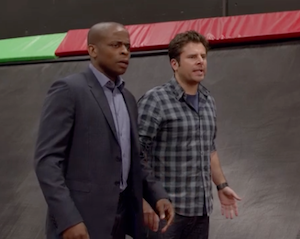 Psych Exclusive Preview Video: 'Remake' Episode Hits Below the Belt