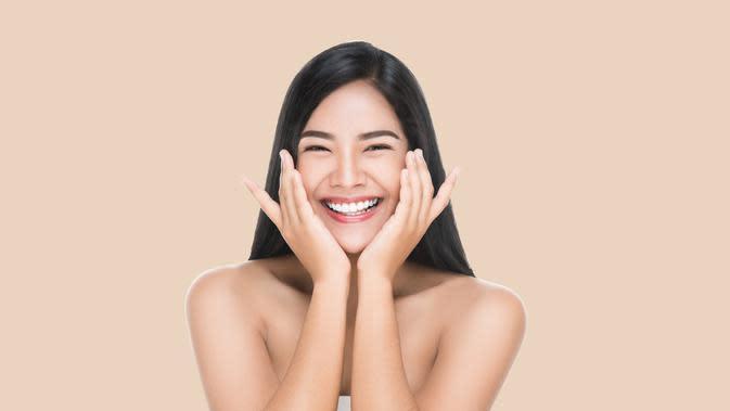 Ilustrasi wajah perempuan/copyright shutterstock