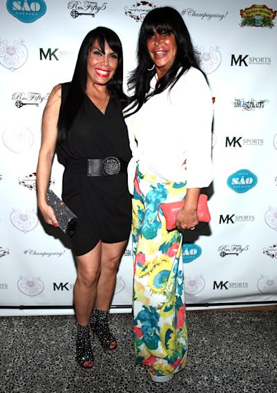 "Renee Graziano and Angela ""Big Ang"" Railoa"