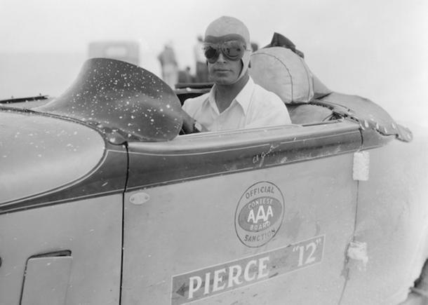 September 19: Ab Jenkins finishes a 24-hour drive at Bonneville on this date in 1932