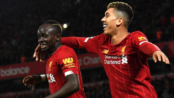 Gaya Rambut Baru Sadio Mane dan Roberto Firmino Bikin Fans Liverpool Terkesima
