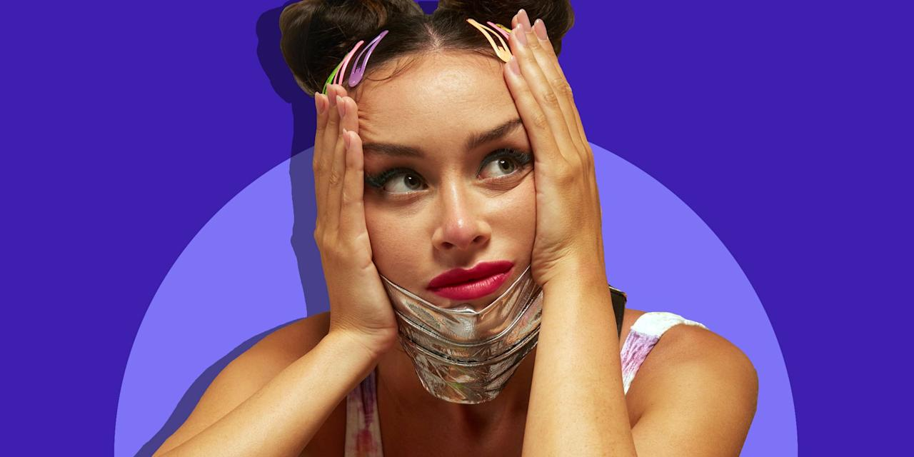 """<p>By now, we're all very aware that <a href=""""https://www.bestproducts.com/lifestyle/g32303992/where-to-buy-cloth-face-masks/"""" target=""""_blank"""">face masks</a> are now part of the new norm under quarantine (and if you aren't wearing one yet, it's time to hop on the bandwagon). Though many of us have not only accepted face masks but have <a href=""""https://www.vogue.com/slideshow/stylish-face-masks-to-shop-now"""" target=""""_blank"""">used them as a new form of fashion</a>, there's one issue that seems to keep popping up: maskne.</p><h2 class=""""body-h2"""">What is Maskne?</h2><p>According to celebrity esthetician and founder of eponymous skincare line <a href=""""https://www.reneerouleau.com/"""" target=""""_blank"""">Renée Rouleau</a>, maskne is exactly what it sounds like: acne caused by your personal protective equipment (PPE). </p><p>""""Wearing a mask or other protective gear around your face can lead to a type of acne called <a href=""""https://www.verywellhealth.com/acne-mechanica-15495"""" target=""""_blank"""">acne mechanica</a>,"""" Rouleau says. """"The only difference between acne mechanica and regular acne is the cause; while regular breakouts tend to be hormonally driven, acne mechanica is caused by friction (a physical disruption to the skin). When something is constantly rubbing up against your skin, the combination of friction, heat, and pressure can be a trigger for breakouts.""""</p><h2 class=""""body-h2"""">What Causes Maskne?</h2><p>So, what's the main offense that causes maskne? </p><p>""""The friction responsible for acne mechanica is the culprit behind most irritation caused by protective face masks,"""" Rouleau says. """"In fact, red, bumpy, rashy skin is a common precursor to acne mechanica. All of these are also signs of inflammation, which can wake up your skin's pigment cells and cause lingering pigmentation long after the redness has subsided."""" </p><p>Rouleau also notes that due to the constant friction, your skin's protective moisture barrier can be disturbed, and it can create tiny cracks, leading to """