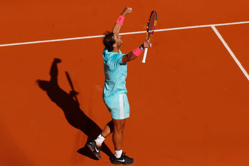 Nadal crushes qualifier Korda to reach last eight