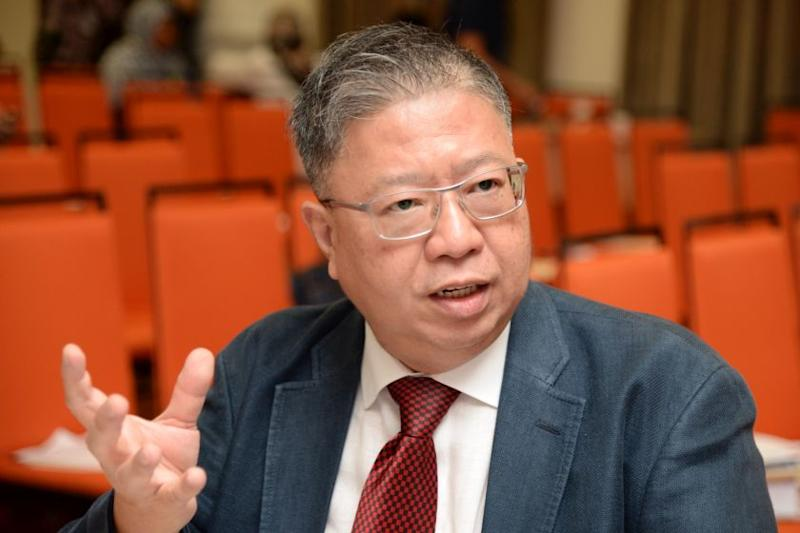 FIABCI Malaysia president Michael Geh believed the local property sector will remain resilient due to the various measures introduced by the government in its economic stimulus package. — Picture by KE Ooi