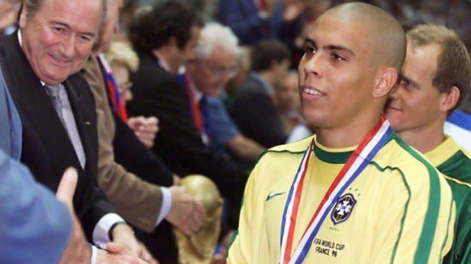 Ronaldo Luiz saat menjuarai Piala Dunia bersama Brasil