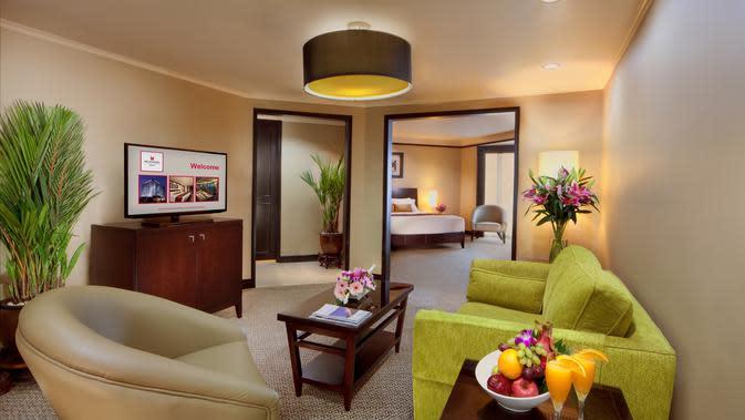Junior suiteSalah satu tipe kamar yang ada di Millennium Hotel Sirih Jakarta. (dok. Millennium Hotel Sirih Jakarta)