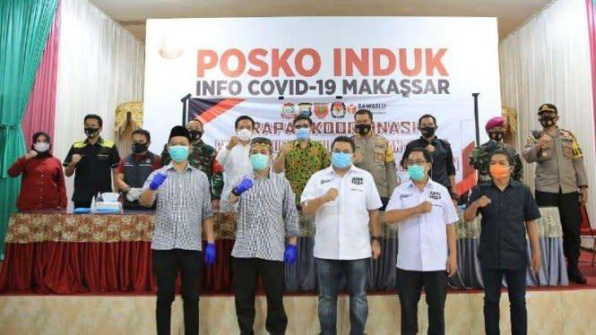 Penuhi Syarat, Pilkada Makassar Resmi Diikuti 4 Paslon