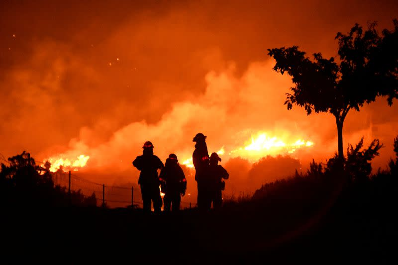 California governor Newsom declares emergency in three counties due to fire