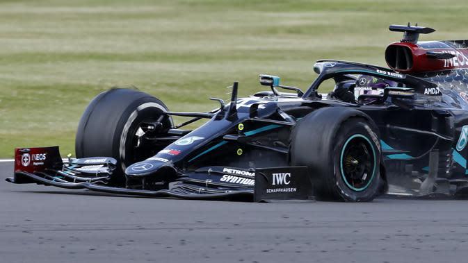 Kualifikasi F1 GP Belgia: Hamilton Rebut Pole, Didedikasikan untuk  Aktor Black Panther