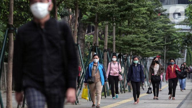 Satgas: 15 Persen Perkantoran Tak Wajibkan Karyawannya Pakai Masker