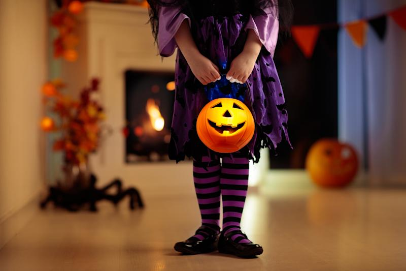 L.A. County is cracking down on trick-or-treating this Halloween because of the pandemic. (Photo: Getty Creative stock image)