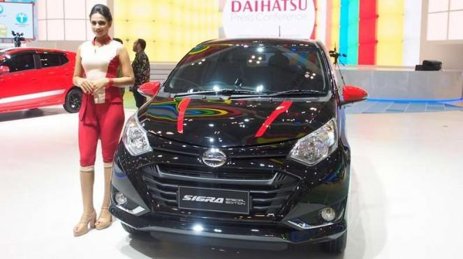 Daihatsu Sigra Special Edition di GIIAS 2018.