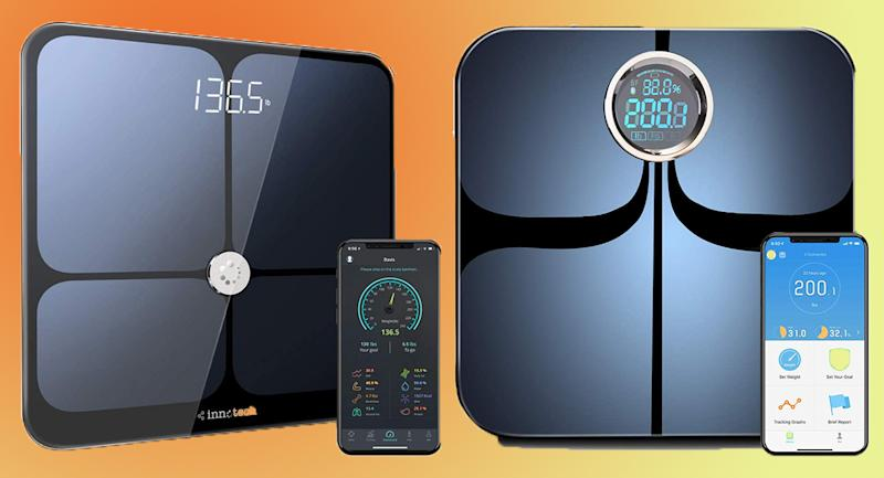Smart scales put all your health data in the palm of your hand. (Photo: Amazon)