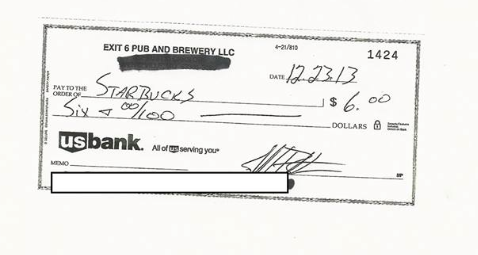 Missouri Bar Gets Cease-And-Desist Order From Starbucks, Responds With Hilarious Letter And $6 Check