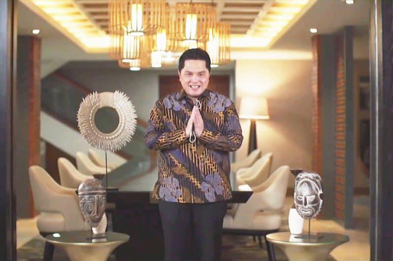 Hadapi tantangan mendatang, Menteri BUMN beri semangat wisudawan UI