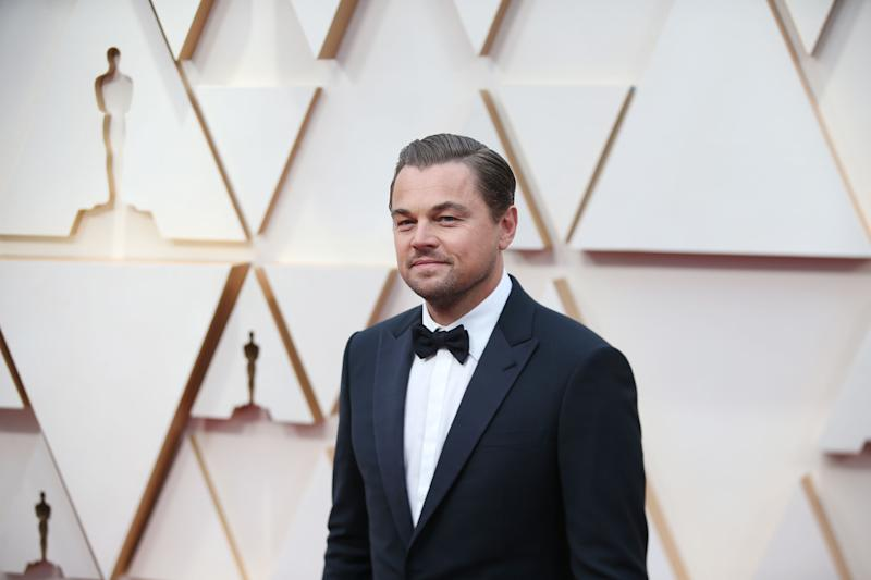 Leonardo DiCaprio arrives for the red carpet of the 92nd Academy Awards, Feb. 9, 2020. (Photo by Li Ying/Xinhua via Getty Images)