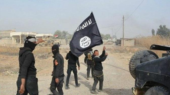 Ilustrasi Anggota ISIS (AFP Photo)