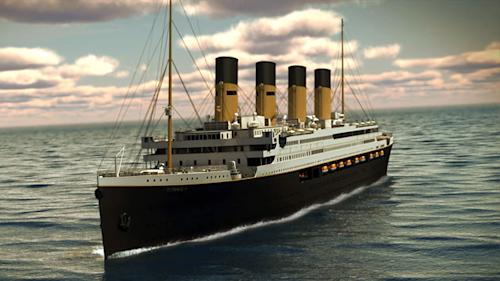 Titantic II — the ship, not the movie — will launch in 2016