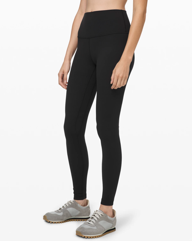 """<p><strong>Lululemon</strong></p><p>lululemon.com</p><p><strong>$98.00</strong></p><p><a href=""""https://go.redirectingat.com?id=74968X1596630&url=https%3A%2F%2Fshop.lululemon.com%2Fp%2Fwomen-pants%2FAlign-Pant-Full-Length-28%2F_%2Fprod8780551&sref=https%3A%2F%2Fwww.seventeen.com%2Ffashion%2Ftrends%2Fg33660599%2Fbest-black-leggings%2F"""" target=""""_blank"""">Shop Now</a></p><p>Y'all knew I wasn't going to do a list of best black leggings and <em>not </em>put a pair of <a href=""""https://go.redirectingat.com?id=74968X1596630&url=https%3A%2F%2Fshop.lululemon.com%2Fp%2Fwomen-pants%2FAlign-Pant-Full-Length-28%2F_%2Fprod8780551&sref=https%3A%2F%2Fwww.seventeen.com%2Ffashion%2Ftrends%2Fg33660599%2Fbest-black-leggings%2F"""" target=""""_blank"""">Aligns</a> on here. These are hands-down <a href=""""https://www.seventeen.com/fashion/g27325538/best-lululemon-leggings/"""" target=""""_blank"""">my favorite leggings</a> of all time – I've worn little else during quarantine. They're butter-soft and so, so, so f*cking comfortable.<em></em></p>"""